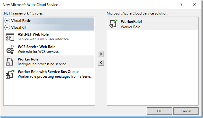 Azure Cloud Services : C# TCP Server –  net dev life